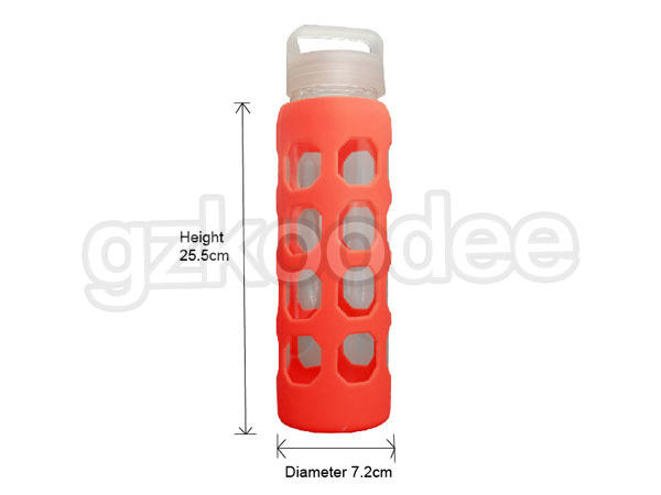 Koodee newly glass sports water bottle logo printing for wholesale