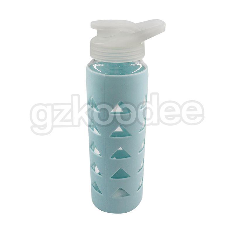 Borosilicate Glass Material Sports Drinkware Wholesale Glass Water Bottle 700ml Koodee