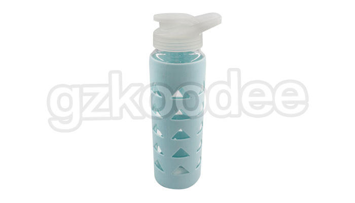 Koodee direct manufacturer glass containers with silicone sleeve at discount for milk