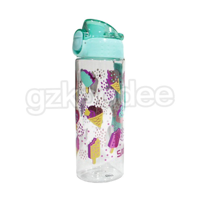 Classic Fashion Water bottle with Flip Cap 600ML Koodee