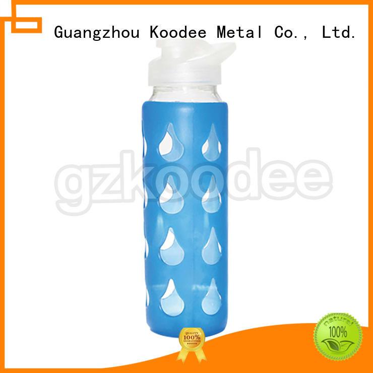 sleeve newly popular glass water bottle quality Koodee