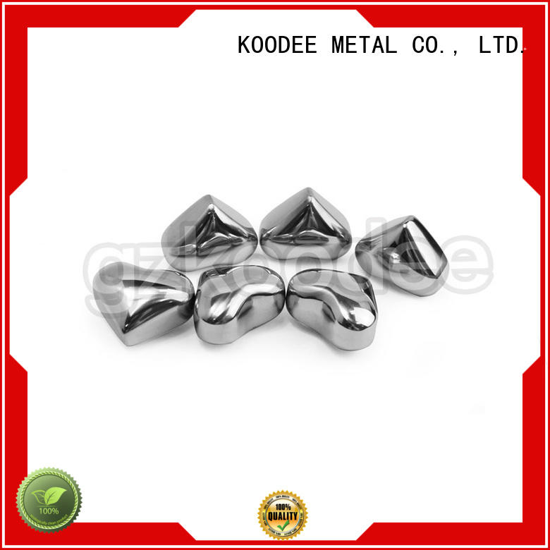Wholesale style stainless steel cooling cubes Koodee Brand