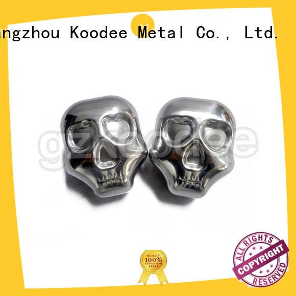 shape Custom sale stainless steel ice cubes whiskey Koodee