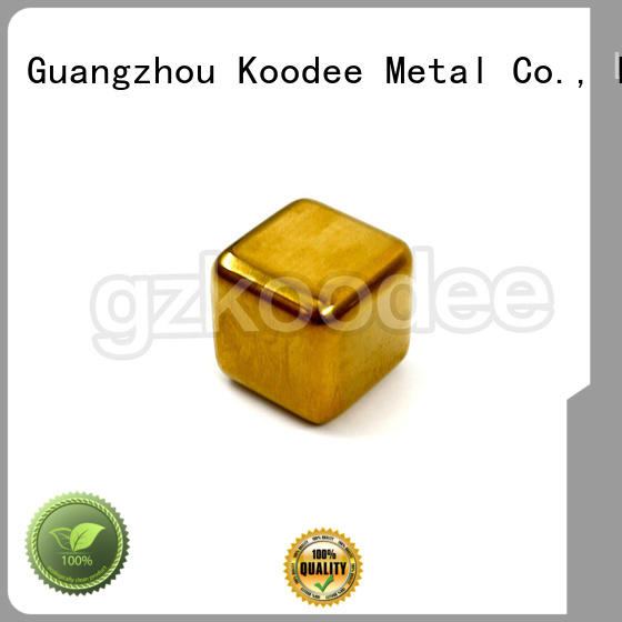 ice stainless steel ice cubes quality reusable Koodee company