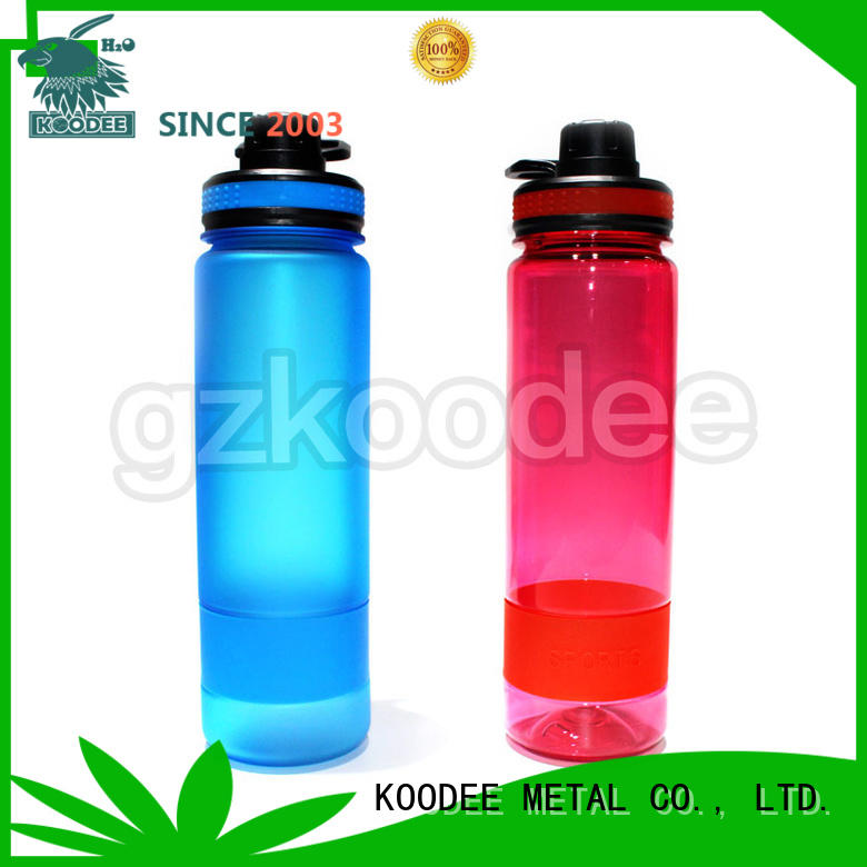 Koodee Brand sale dumbbell sports plastic water bottle manufacture