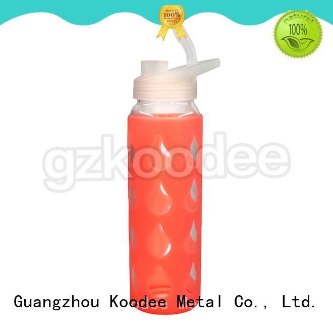 glass water drinking bottles direct manufacturer for milk Koodee