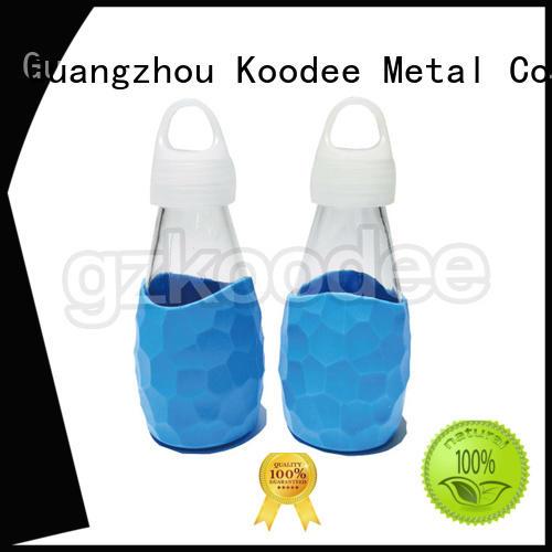 newly small sports glass water bottle Koodee Brand