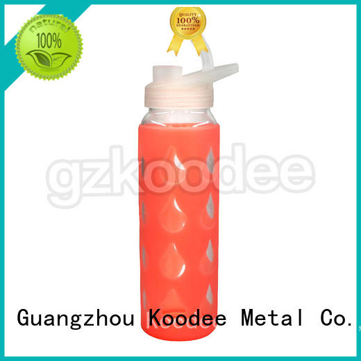 drinking glass water bottle direct manufacturer for glassware Koodee