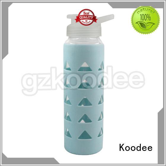 special lid glass water bottle Koodee Brand