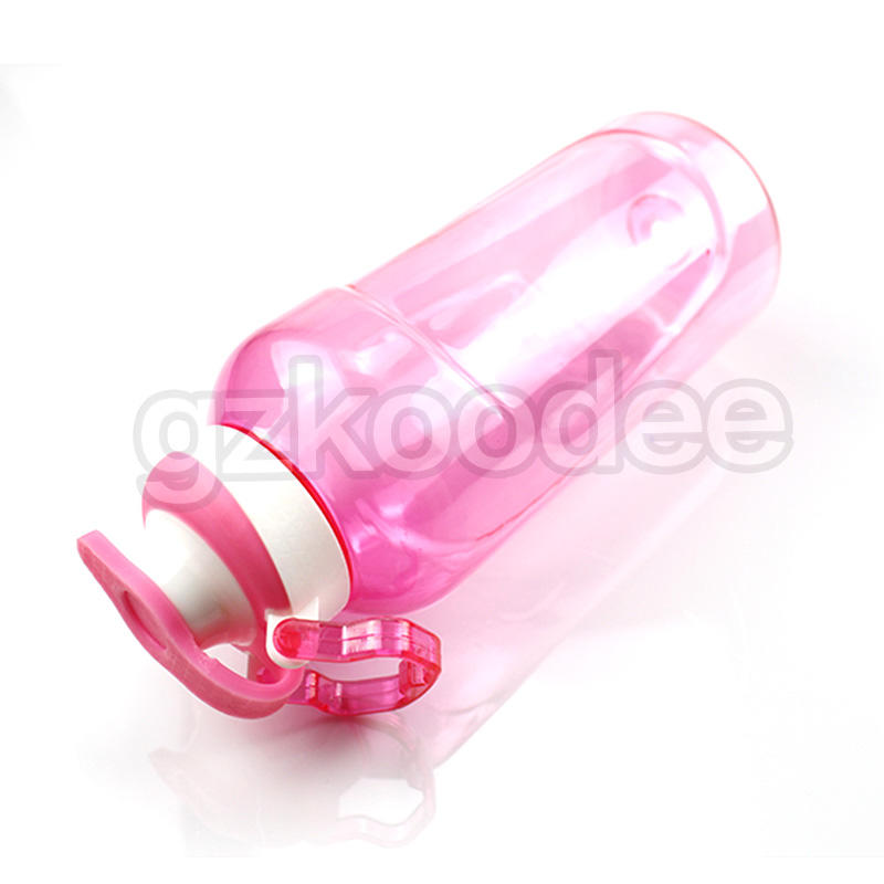 Koodee square shape empty plastic drinking bottles space for coffee