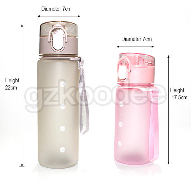 pp material good plastic water bottles competitive for student Koodee