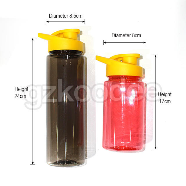square shape buy plastic water bottles silicone for coffee
