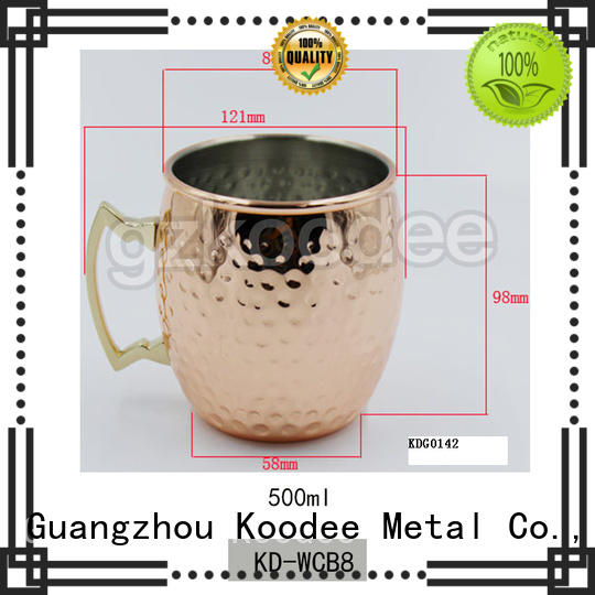 Koodee high-end stainless steel wine glass newest for whiskey
