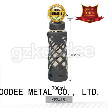 Koodee newly the best glass water bottle first supplier for milk