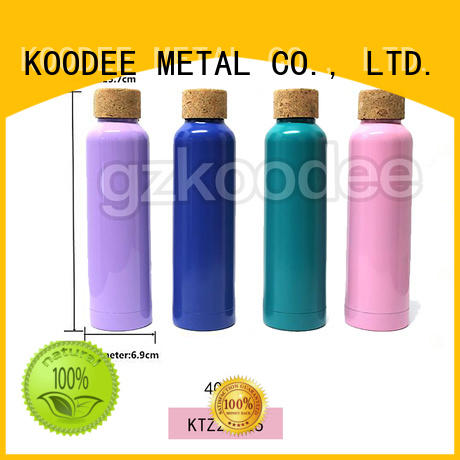 metal thermos water bottle OEM for student Koodee