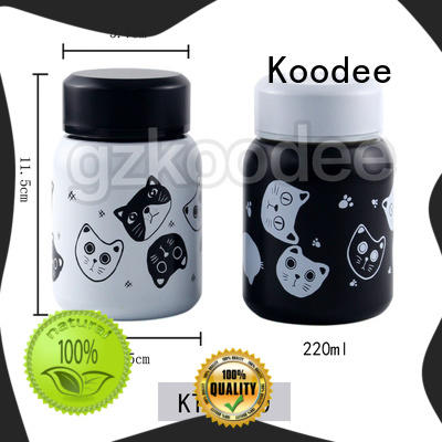 Koodee stainless thermal food container OBM for travel