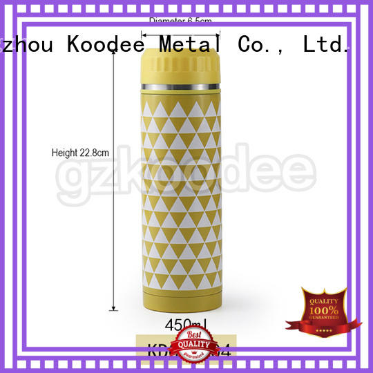 steel insulated water bottle OEM for drinking Koodee