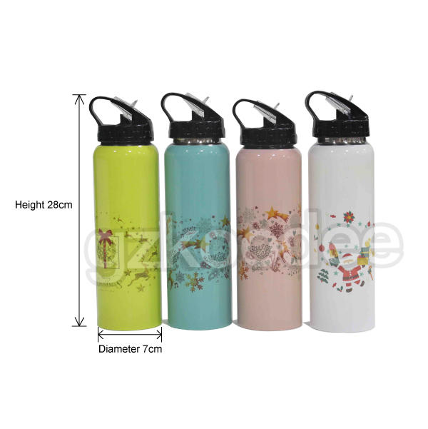 thermos vacuum flask sports theme Koodee