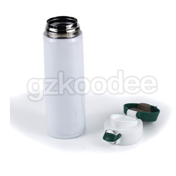 Flip Cap Stainless Steel  Double Wall Vacuum Flask 500ml Koodee-7