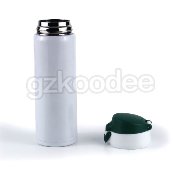 Flip Cap Stainless Steel  Double Wall Vacuum Flask 500ml Koodee-8