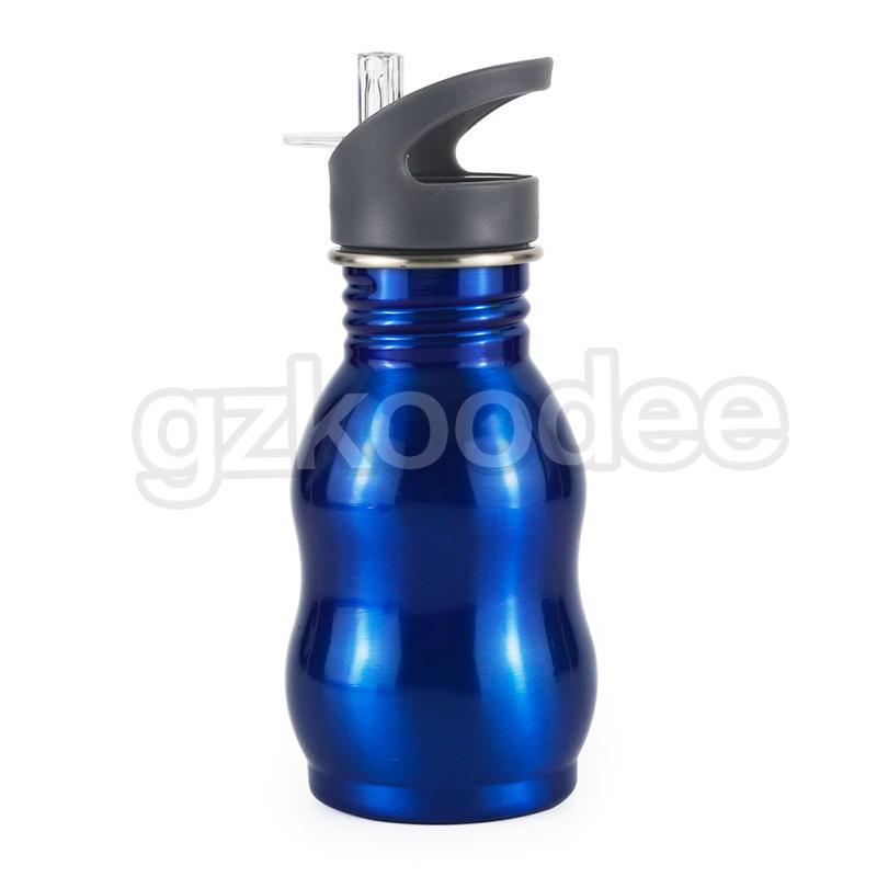Koodee 350ml/500ml/750ml/1L  Single Wall Outdoor Bottle with Nozzle