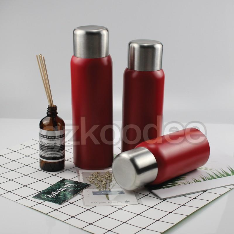 Vacuum Flask Delicate Design With Stainless Steel Cap Koodee 2019 New Arrival