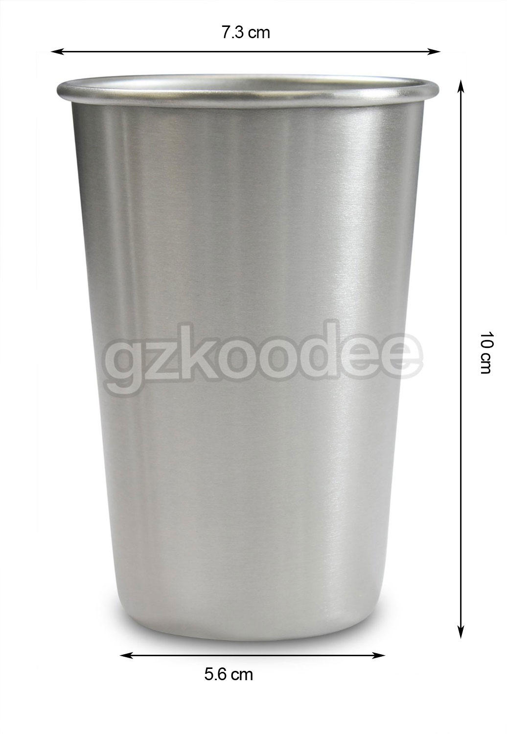 stainless steel stainless pint glass for beverage Koodee