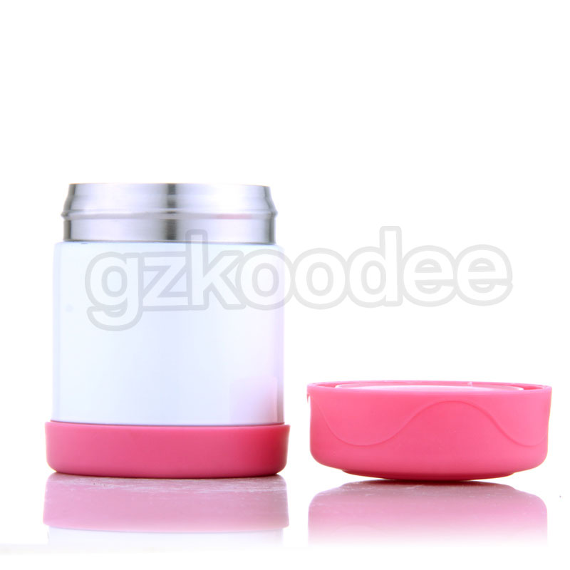 2019 new unbreakable stainless steel food container/soup container 300ml Koodee-7