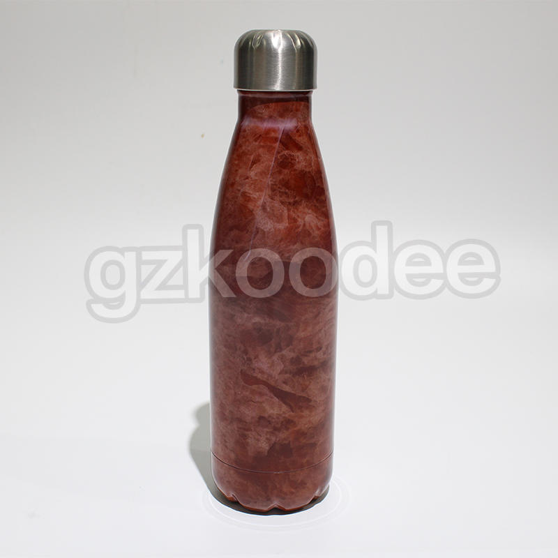 Household Bottle Double Wall Cola-shaped vacuum insulated water bottle280ml/350ml/500ml/750ml Koodee