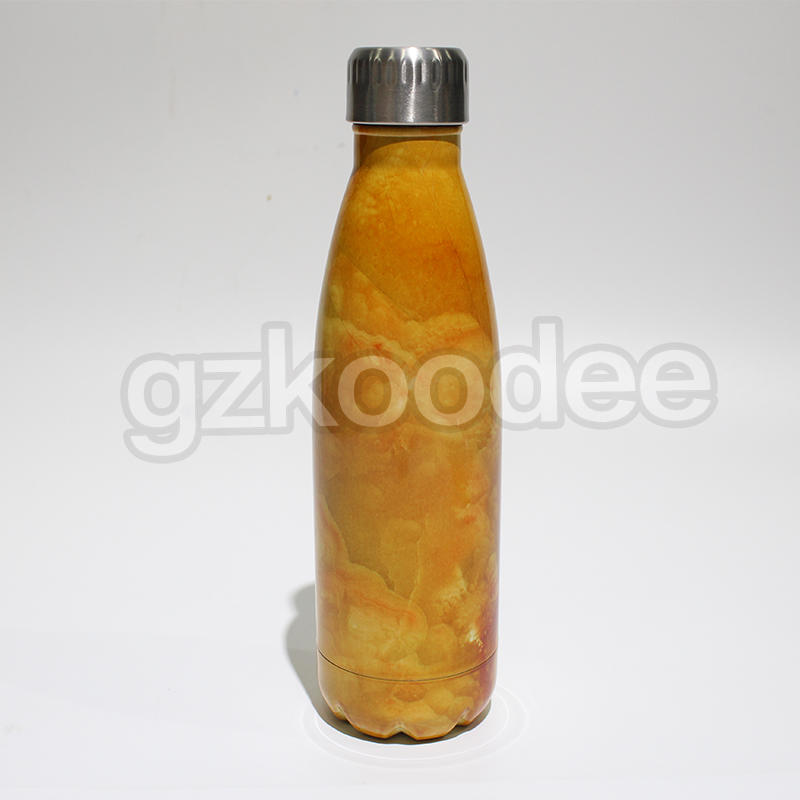 Household Bottle Double Wall Cola-shaped vacuum insulated water bottle280ml/350ml/500ml/750ml Koodee