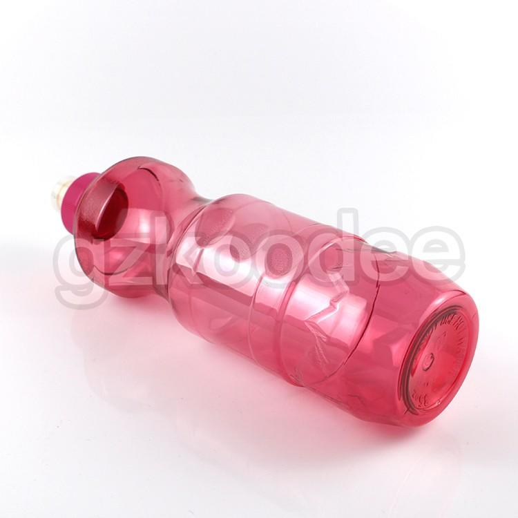Koodee square shape good plastic water bottles shape for coffee