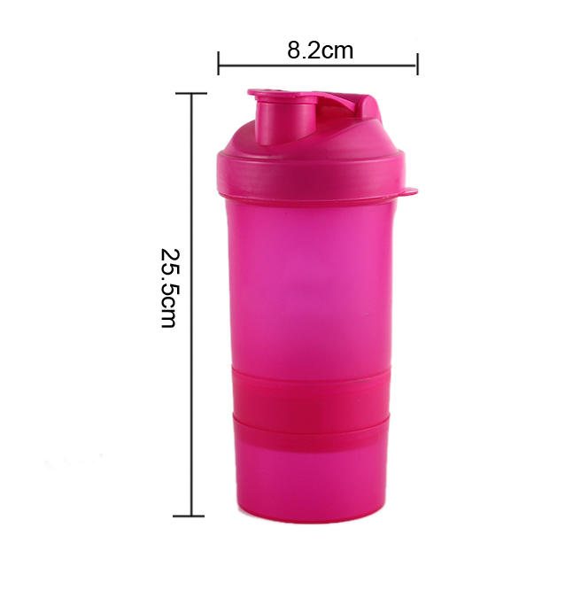 safe plastic drinking bottles dumbbell shape for student Koodee