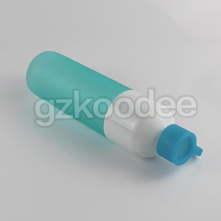 Sports Plastic 700ml Water Bottle Juice Space Colorful Frosted Bottle Koodee