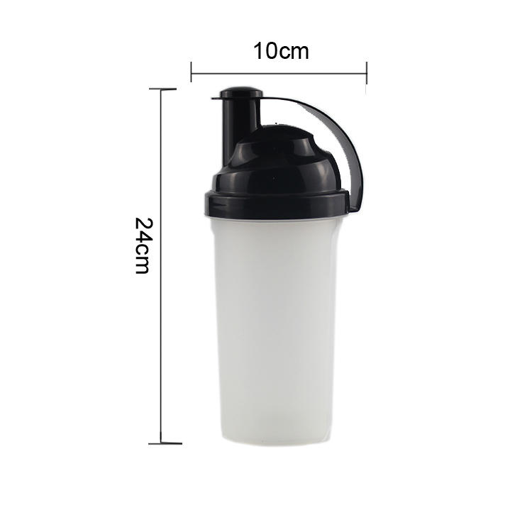 Koodee classic high quality plastic water bottles dumbbell for coffee