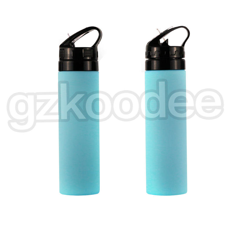High Fashion Custom Logo Silicone Water Bottle