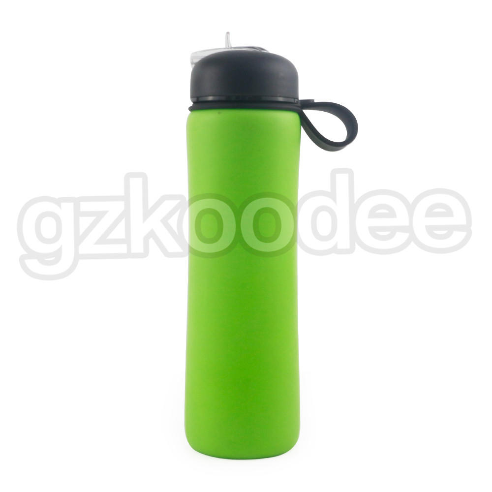 Hot Selling Custom Logo Silicone Water Bottle