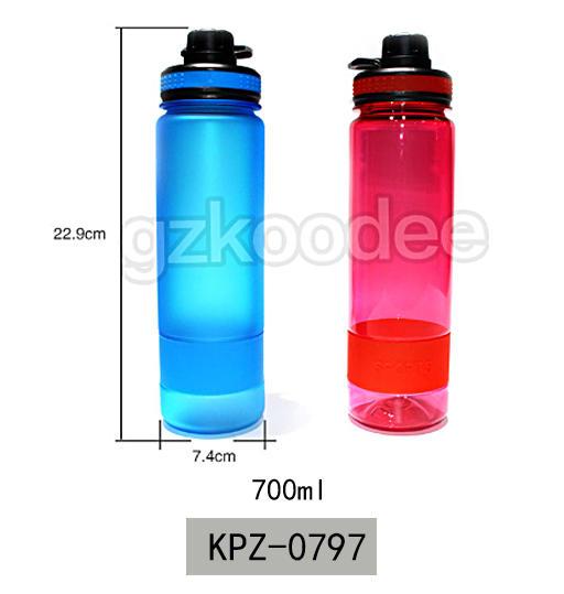 Custom Plastic Tritan Sports water bottle 700ml Koodee