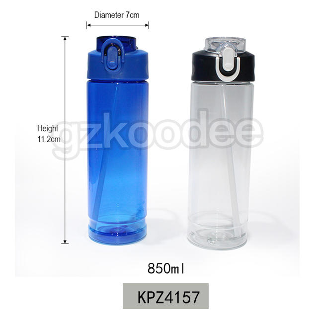 2019 School Tritan Water Bottle with Silicone Nozzle 850ml Koodee