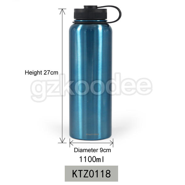 2019 most popular custom painting drinkware insulated stainless steel vacuum bottle