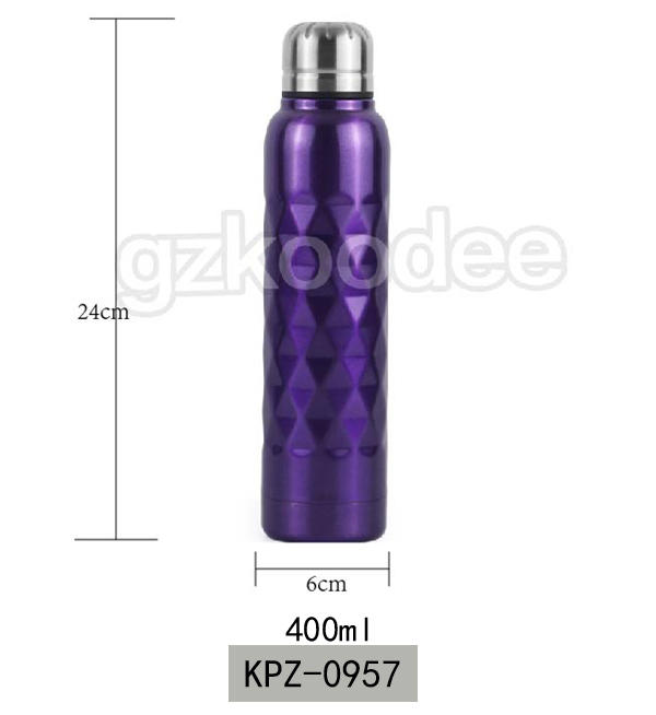 Vacuum Flask Special Prismatic Surface 400 ml Koodee
