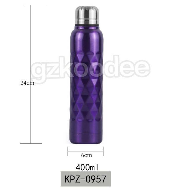 Vacuum Flask Special Prismatic Surface 400 ml Koodee