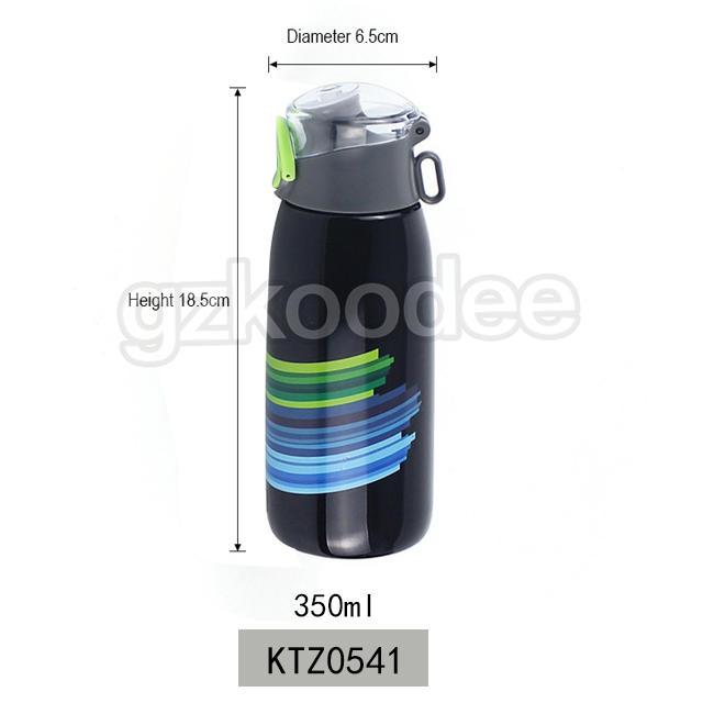 Double Wall Water Bottle Stainless Steel Vacuum Flask 350 ml  Koodee
