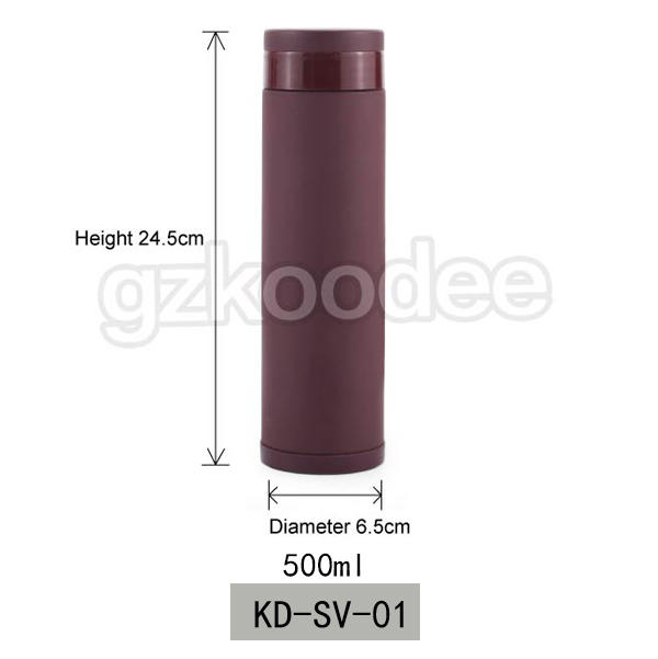 Double Wall Water Bottle Stainless Steel Vacuum Flask Koodee