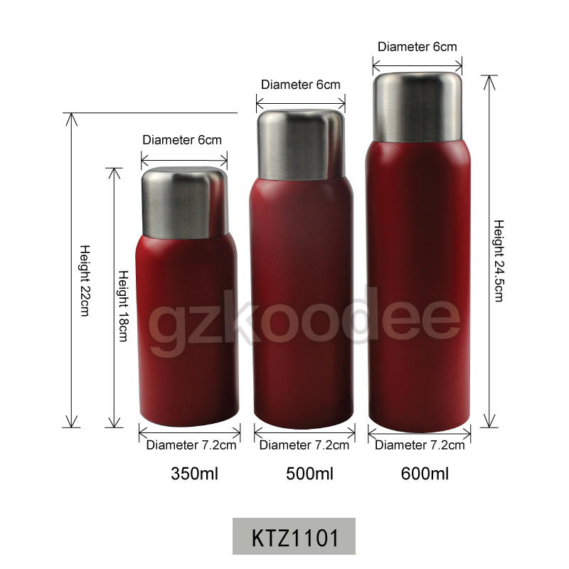 Vacuum Flask Delicate Design With Stainless Steel Cap Koodee 2020 New Arrival