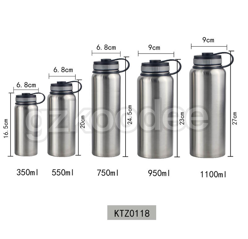 Water Bottle With Handle Unique Design Hot Selling Double Wall Stainless Steel Thermos Koodee