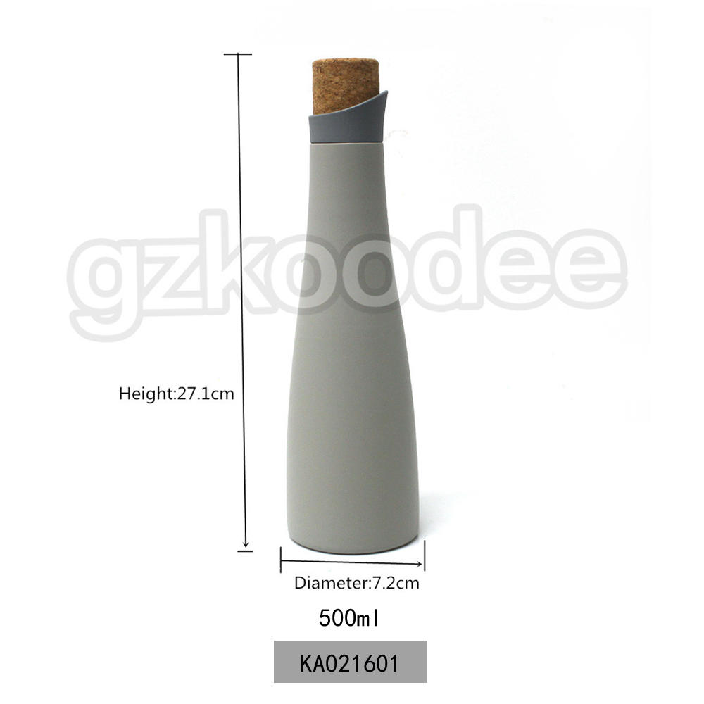 Delicate Bottle High Quality Fashion Vacuum Stainless Steel Material Koodee