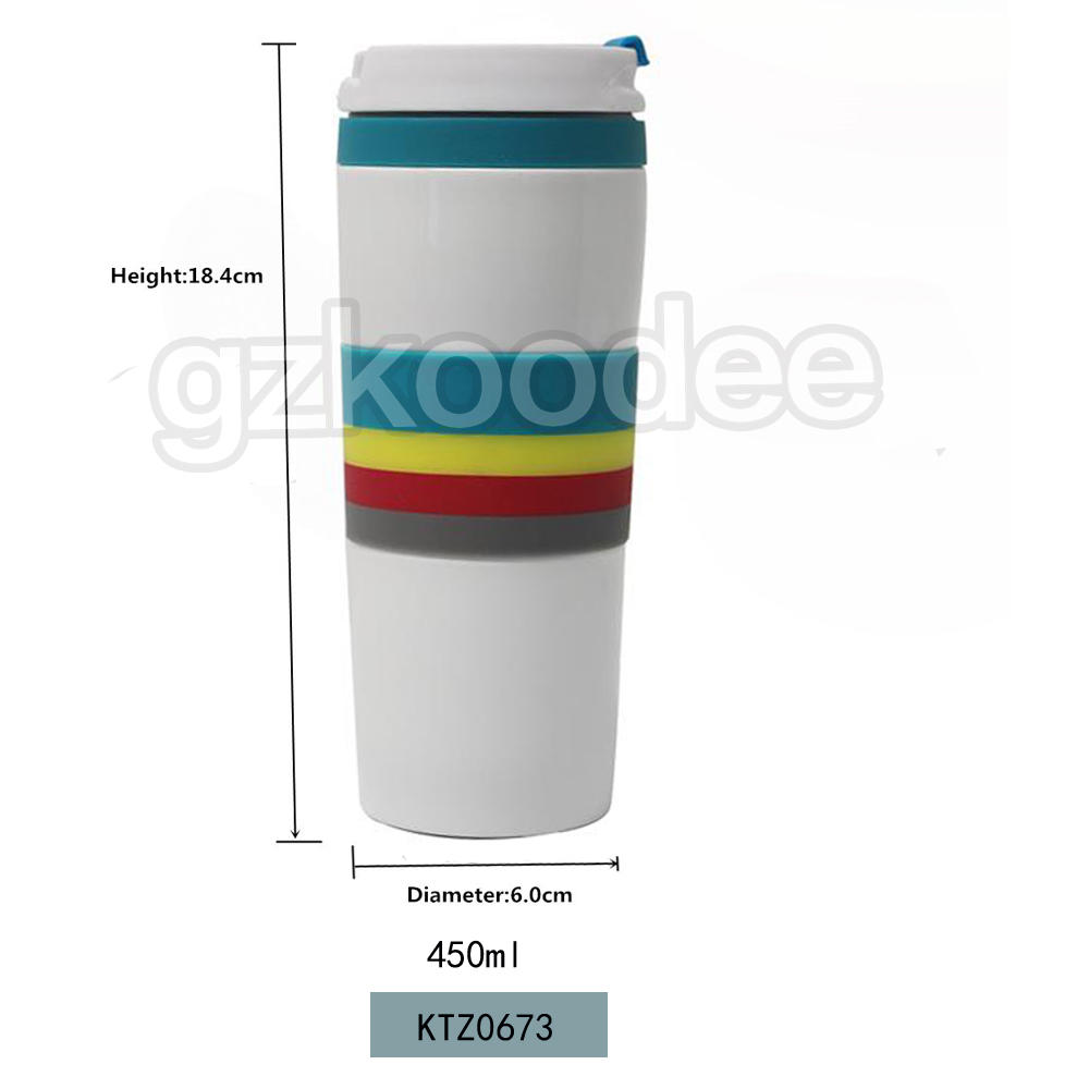 Flasks  Thermal Coffee Tea Milk Travel Mug 450ml Koodee