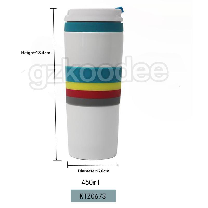 Flasks  Thermal Coffee Tea Milk Travel Mug 450ml Koodee