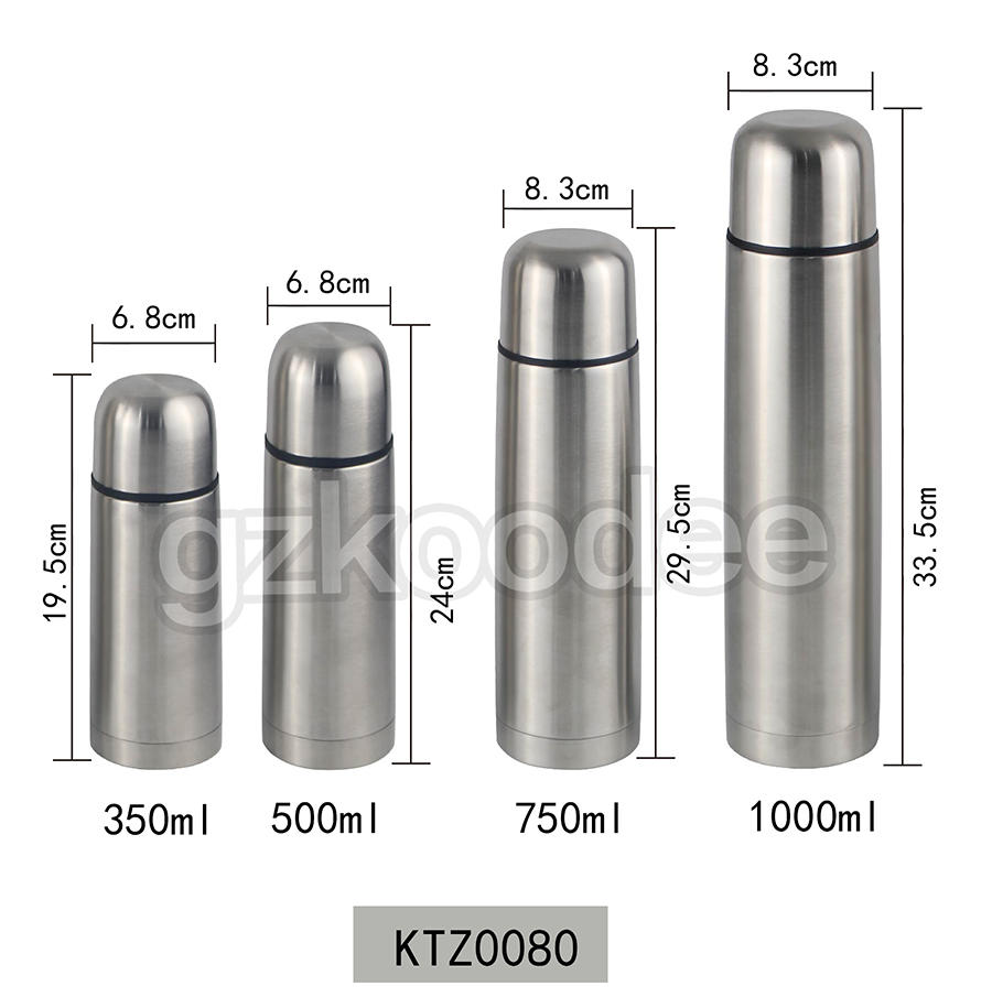 Vacuum Flask Custom Colorful Double Wall thermos Bottle Koodee