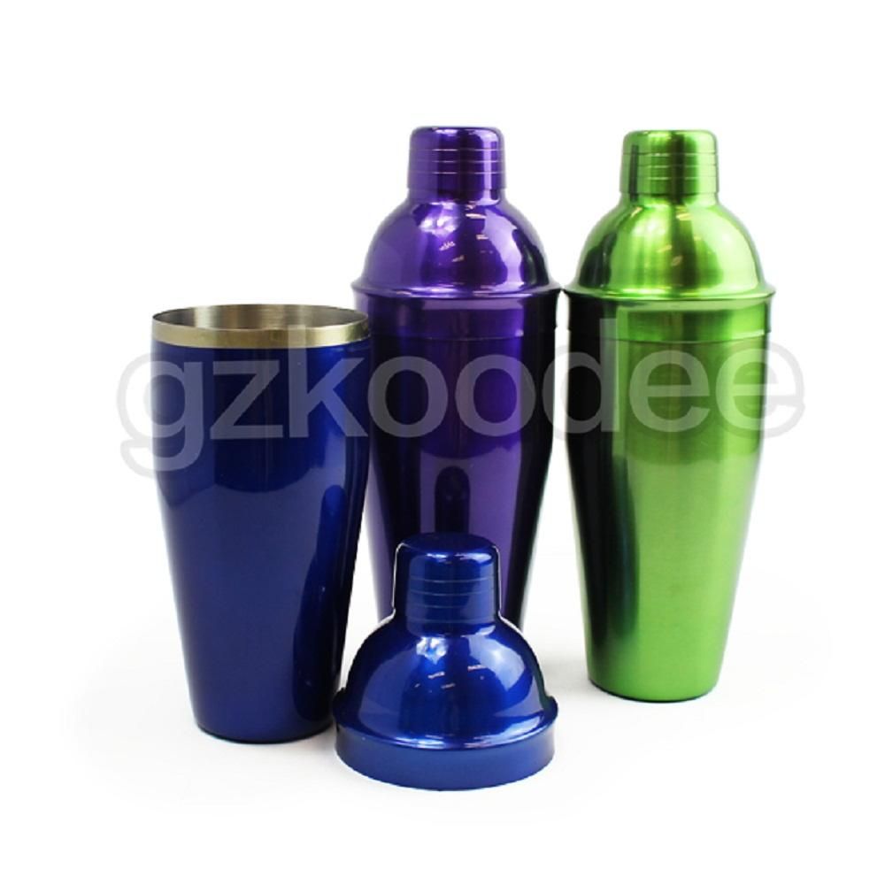 Wholesale Barware Mixing Tool Customized Cocktail Shaker with Stainless Steel 750ml Koodee